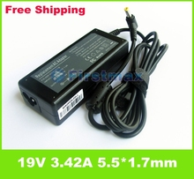 Laptop AC Adapter Charger for Acer 19V 3.42A 5.5*1.7mm  ASPIRE 3680 3690 5720 5920 power supply