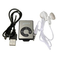 ETC-Mini Music MP3 Player Support Micro TF Card Solt with USB Cable with USB Port Headphones Earphone