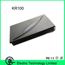 Hot sale 2 color LED Indicators waterproof IP65 wiegand 26 door access control RFID card proximity reader KR100