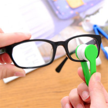 New Mini Microfiber Glasses Cleaning Brush,Soft Sun Glasses Cleaner Cleaning Tools Glass Wiper %