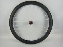 Only Rear Wheel 50mm Deep Tubular 25mm Width ,Carbon Fiber Bike Wheelset 700c Bicycle Wheels with Novatec Hub 372SB