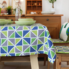 Pastoral  Printed Dinette Tablecloth Cotton Canvas Kitchen Table Cover for Home Restaurant Party Wedding Decoration LK083