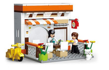 Sluban SimCity Casual Diner Snack bar Sets Building Blocks Bricks Toys For Children Forge World Compatible With Legoe(China)