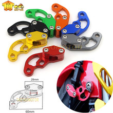 Motorcycle Accessary CNC Brake Cable Line Clamp For APRILIA RS 125 RS125 RSV4 Fairing kit RSV 1000 Tuono Shiver universal