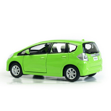 RMZ City Honda Jazz 1:32 Vehicles Alloy Pull Back Car Replica Authorized Original Factory Model Toys Kids Gift