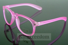 Women Retro Pink Eyeglass Frames Full Rim Glasses Eyewear Spectacles Rx able(China)