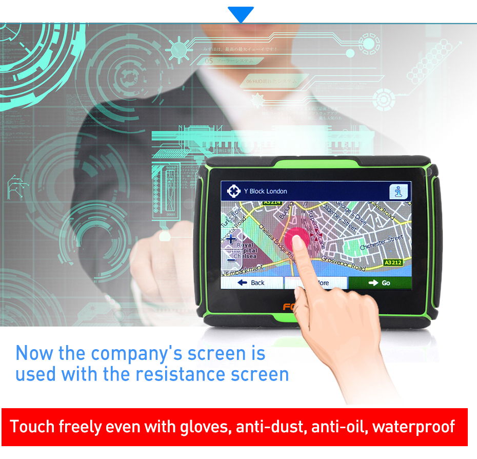 GPS Navigation TF touch screen