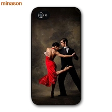 minason Most Amazing Fashion Latin dance Cover case for iphone 4 4s 5 5s 5c 6 6s 7 8 plus samsung galaxy S5 S6 Note 2 3 4 F0325(China)