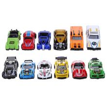 Buy 6pcs Small Simulation Alloy Friction Vehicles Car Model Set Kids Educational Toys Gift Collectible Toy Cars for $5.85 in AliExpress store