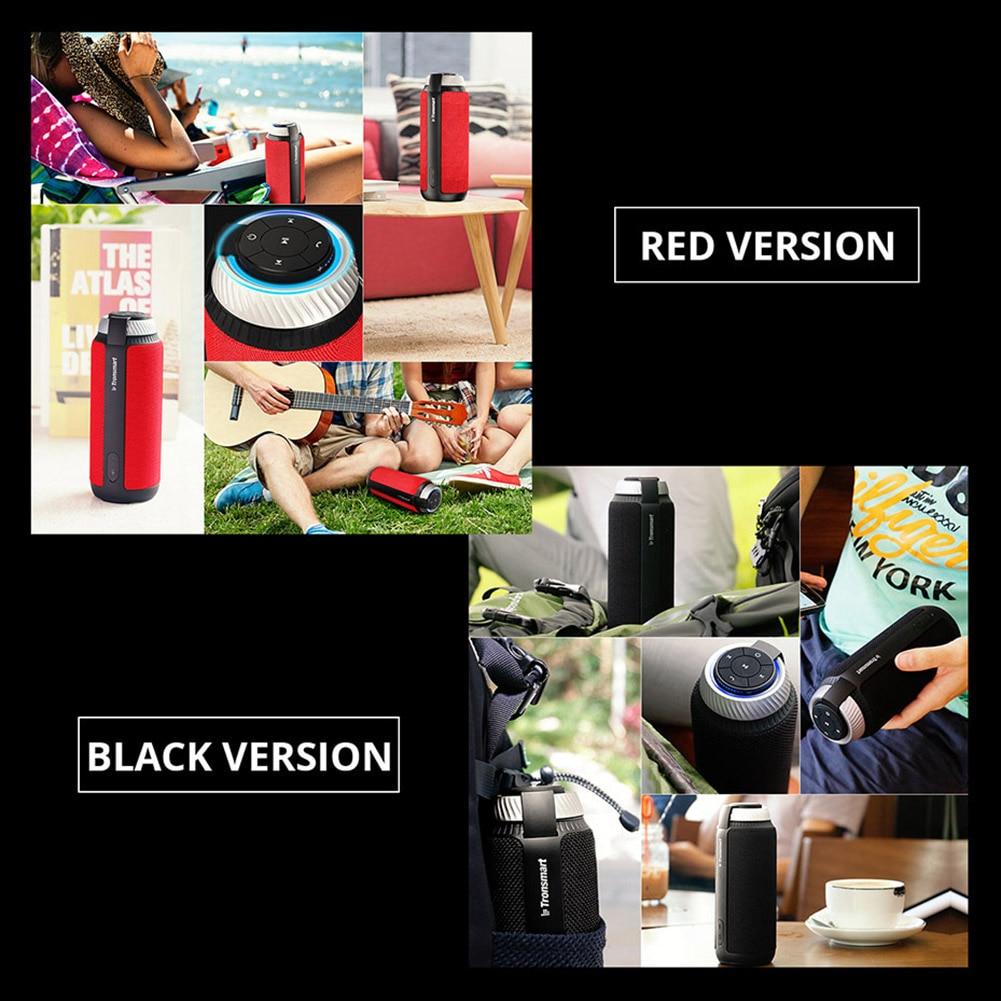 Bluetooth 4.1 Portable Speaker (Red) 6