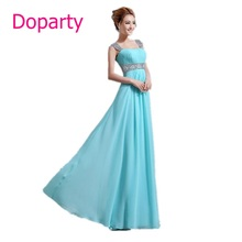 Long A line Beading royal blue pink red blue sweetheart Sleeveless chiffon elegant party floor length evening dresses 2017