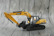 1:35 CAT SANY SY215C-9 excavator Alloy engineering vehicle model Collection model Holiday gift
