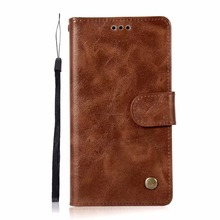 Hazy beauty For Huawei Y3 II Case New Luxury Brown Flip Wallet Case Cover For Huawei Y3 II Case Flip Wallet Cover Coque(China)
