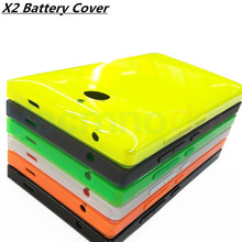 Vecmnoday New Original For Nokia x2 Dual SIM RM-1013 X2DS Back Case Battery Cover Door With Side Bottons(China)