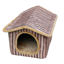 Dog Kennel Large Dog Houses Bed Animals Mats Pomeranian Casinha Para Cachorro Pet House Cushion Dog Kennel Cages Products QQ1113