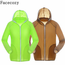Facecozy Women&Men Summer Quick Dry Fishing Shirt UV/Sun Protection Hiking&Camping Shirt Breathable Outdoor Shirt Couples(China)
