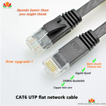 66ft 20m CAT6 Ethernet cable flat UTP CAT6 network cable Gigabit Ethernet Patch Cord RJ45 network twisted pair GigE Lan cable