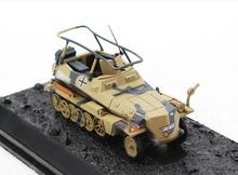 AM 1:72 World War II German sd.kfz.250 alloy armored command vehicle model Favorite Model(China)