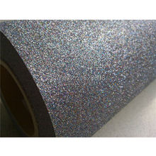 CDG-16 light multi color New One Roll 27 yards Length Glitter Heat Transfer Vinyl Film Heat Press Cut by Cutting Plotter DIY