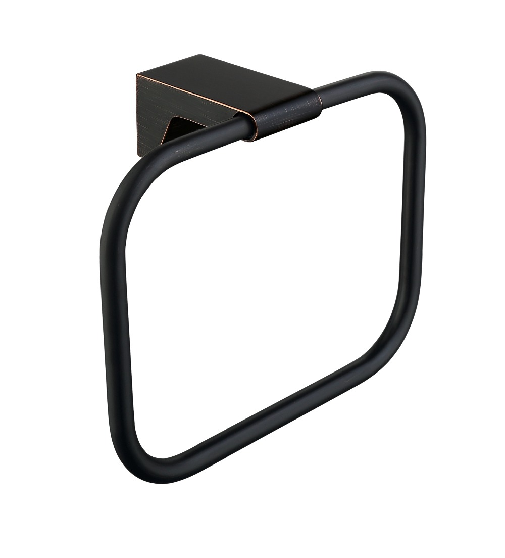Oil Rubbed Bronze Wall mounted Brass Perfect bathroom towel ring towel holder--Antique series<br>