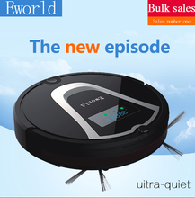 Eworld Robotic Vacuum Cleaner M884 with Cleaning Brush,  Rechargeable Automatic Cleaning Robot for Floor(Online Shipping)