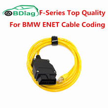 For BMW ENET Cable Coding ENET Ethernet to OBD2 16Pin Connector Works For BMW ESYS Coding F-Series OBD2 Diagnostic Interface