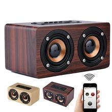Wooden Speaker bluetooth sound system Portatil speaker Amplifier music center Subwoofer notebook Speaker for Computer PC phone
