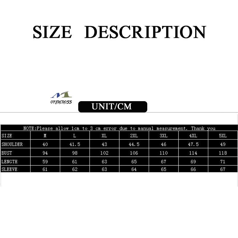 size description