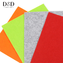 Random 4pcs 20x30cm Non Woven Felt Fabric 3mm Thickness Polyester Cloth Felts DIY Sewing Dolls Crafts(China)
