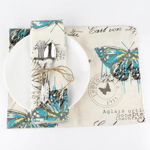 Butterfly Modern dining table placemats coaster coffee cups drink kitchen accessories mat drink pads Kitchen accessaries