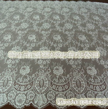 150cm Wide French Lace Fabric Bilateral Guipure Lace Fabric for Wedding Dresses 3Meters/pc Gorgous Flower Trimmings Design