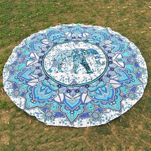 5 Styps Mandala Tapestry Wall Hanging Blanket Indian Summer Beach Wrapped Skirt Tablecloths Tapestry(China)