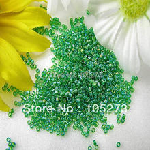 New Free Shipping Miyuki Delica Seed Glass Beads Green Color 8g/lot Wholesale Price(China)