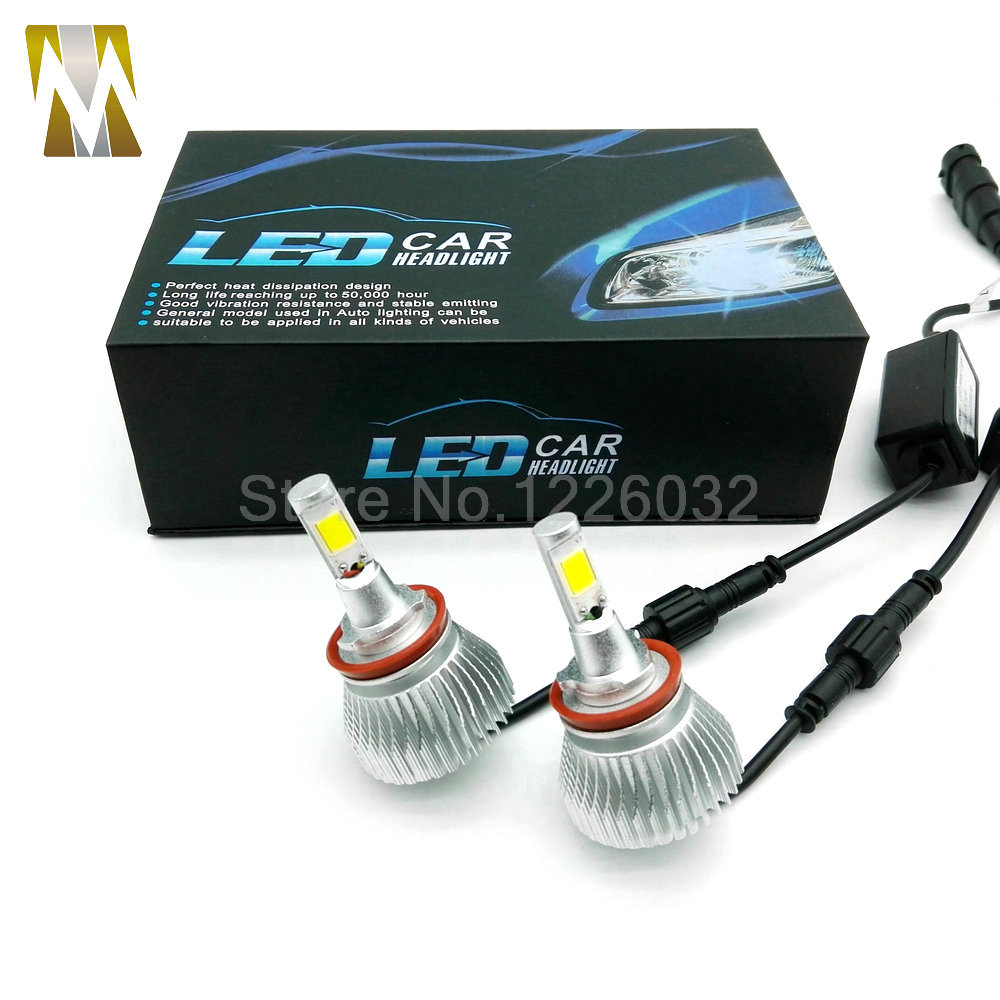 free shipping  80W 5600lm  led headlights H8/H9/H11  Bulb Auto Front Bulb Automobiles led headlight  h7 hb3 hb4 ..<br><br>Aliexpress