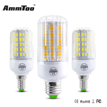 High Lumen LED Corn Bulb E27 24Led 30Led 42Led 64Led 80Led SMD 5730 LED Lamps 110V 220V Chandelier Lampada Led Spot Light