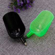 1PC Rugged Plastic Fish Bait Casting Scoop Spoon For Food Particle Fishing Tool