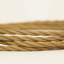 2*0.75mm Retro Color Cotton Cloth Fabric Electrical Cable Wire vintage style lamp cord
