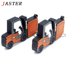JASTER wholesale nimi truck toy usb flash drive car pen drive 16gb 32 gb pendrive 8GB Free shipping Toy vehicles usb creativo