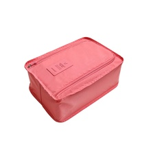 Multifunction Portable Travel Storage Bags Toiletry Cosmetic Makeup Pouch Case Organizer Travel Shoes Bags 6 Colors(China)