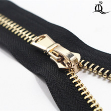 40cm-100cm 1pcs open-End Metal Zippers With Pearl Slider, Multi-color #5 Zippers For DIY Sewing 9 Colors Available