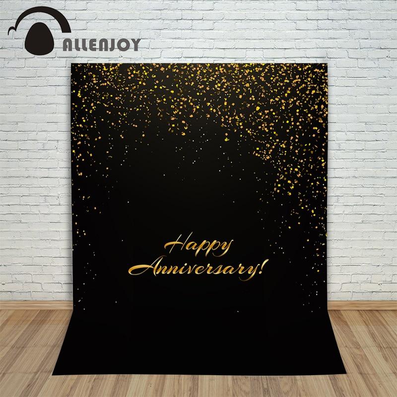 Allenjoy background for birthday photo shoots confetti elegant golden Digital Printing party profession Photography studio<br><br>Aliexpress