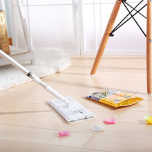 13PCS/Bag Floor Flat Mop Cleaning Wipes Floor Waxing Disposable Tissue Paper Floor Towel(China)
