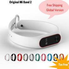 Original Xiaomi Band 2 Smart Wristband Bluetooth 4.0 Xiaomi mi band 2 1S Bracelet OLED Touch Screen Heart Rate Fitness Tracker