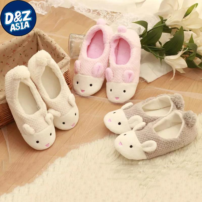 2015 Winter cute little bunny month of shoes, warm slippers, pineapple grain home coral velvet shoes, slippers women<br><br>Aliexpress