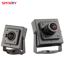 Metal Mini 700TVL Color CMOS Analog CCTV Security Camera with 3.6mm lens or 3.7mm lens(China)