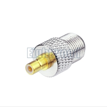 F Female to SMB Male RF Coax Adapter fro Car Satellite SIRIUS XM DAB Radio Antenna Aerial Cable