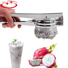 Starlinkstar 1 Pc Squeezers Stainless Steel Manual Potato Machine Juice Squeezer Innovative design Used Kitchen Tools(China)