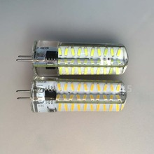 Designed Dimmable G4 Base 4014 SMD lamps 8W 80 LEDs Droplight Silicone Body Bulb AC 220V , 50% Brighter 3014 - GoGood store