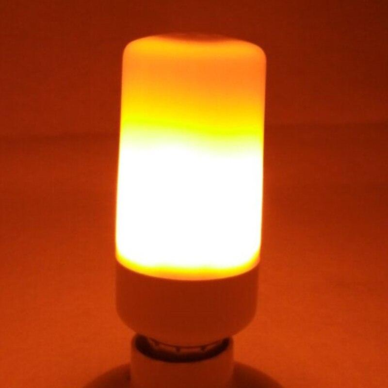 New light led bulb E27 E14 SMD2835 AC110V-220V LED flame lamp Flame Light Effect Fire Corn BulbFlickering Emulation Night Light 18
