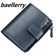 Men wallets zipper wallet men Microfiber leather fashion Top quality male purse wallet women  trifold Wholesale Price hand bag